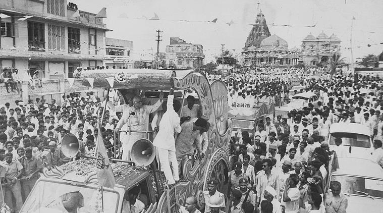 Advani, Ayodhya, Rata yatra