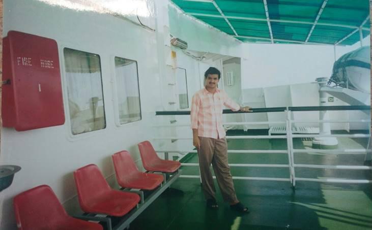 Lakshadweep, praveen chandran, ship travel,