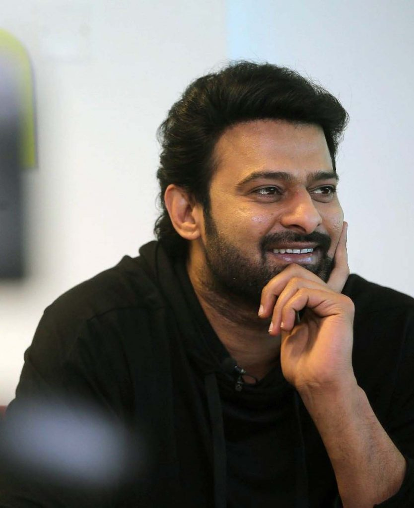 Prabhas meets the Press