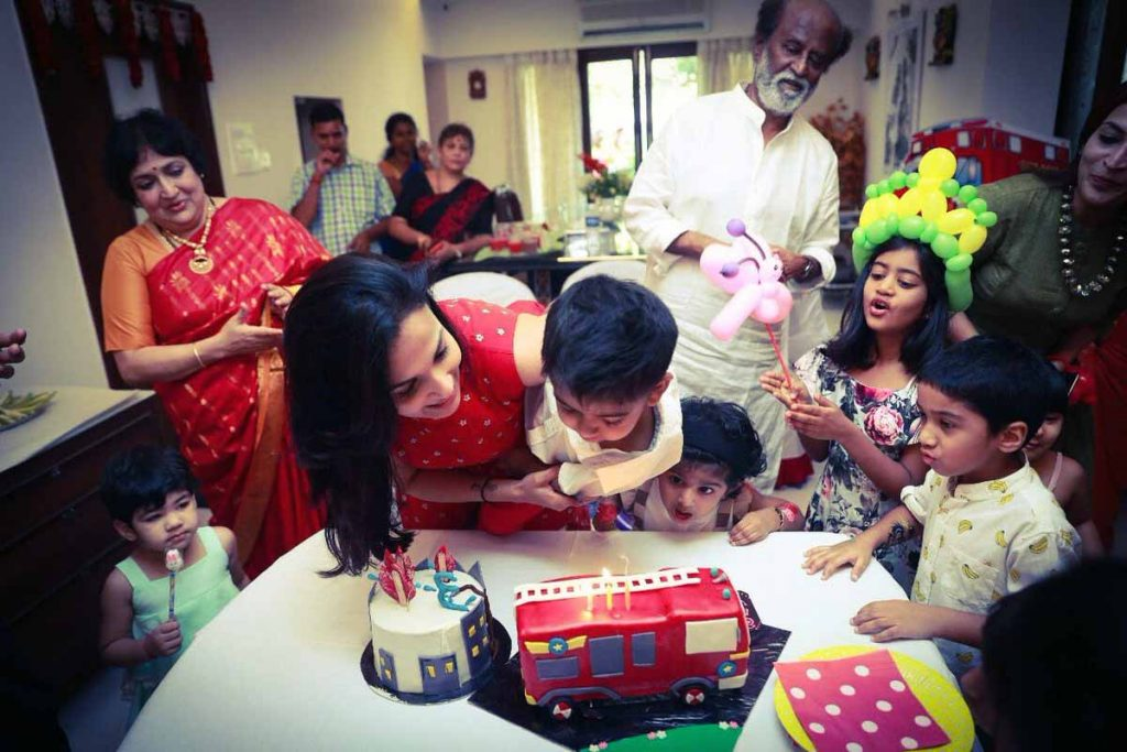 Rajnikanth Grandson Brithday 1