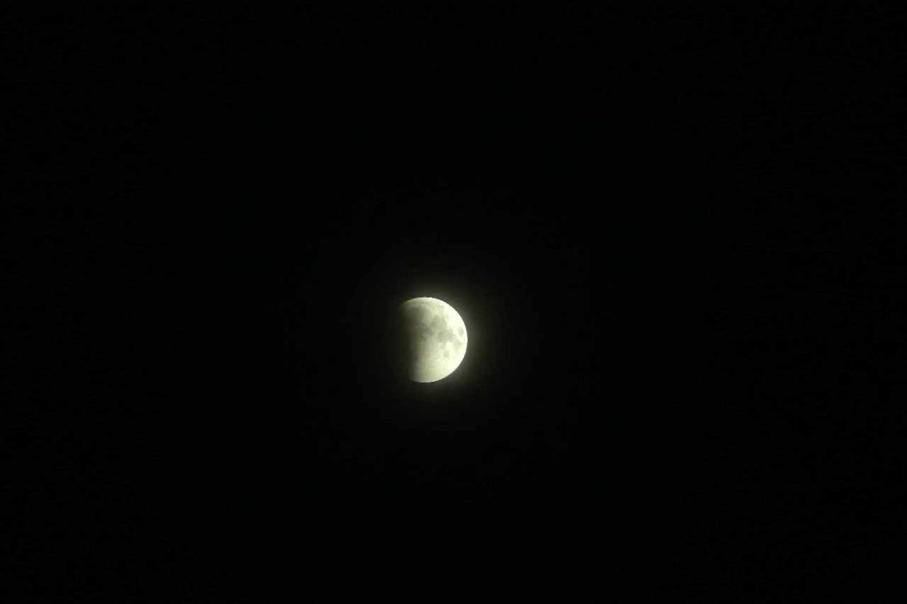 Lunar Eclipse 2018 - Kozhikode - Picture by Sumesh Balusery