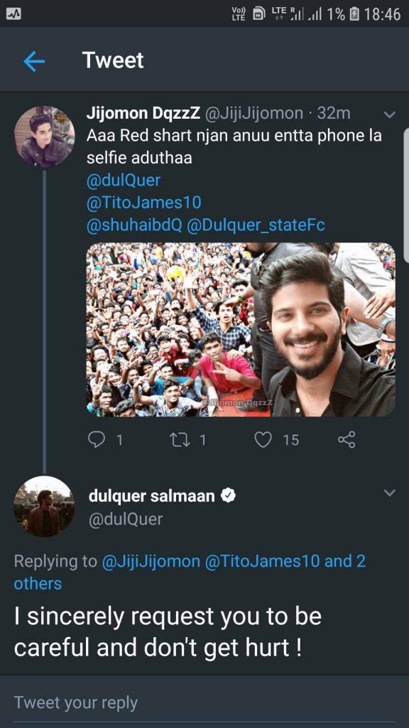 DQ Tweet