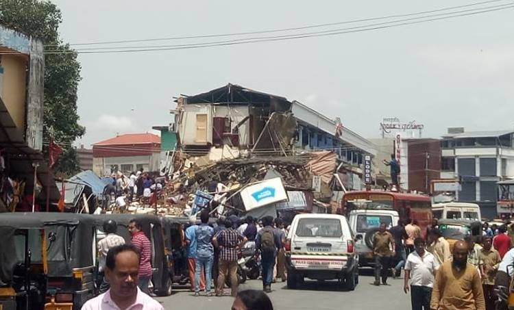 Palakkad Building Collapsed