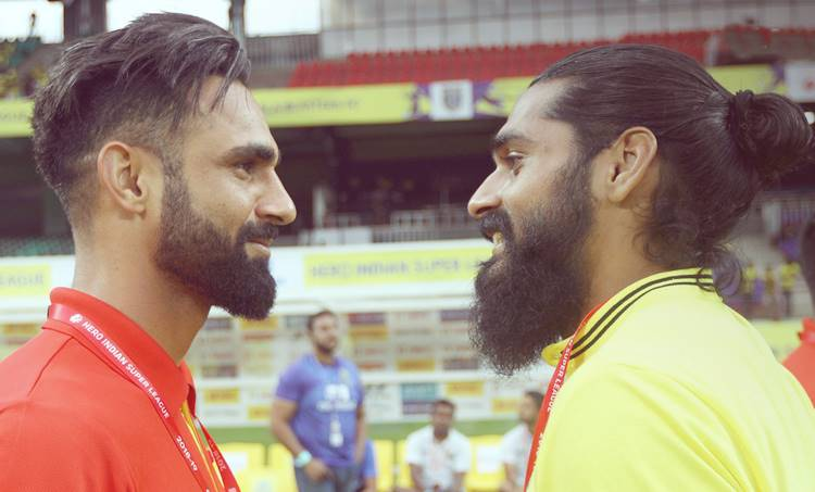 Sandesh Jingan, Amarinder Singh, Kerala Blasters, Mumbai City FC
