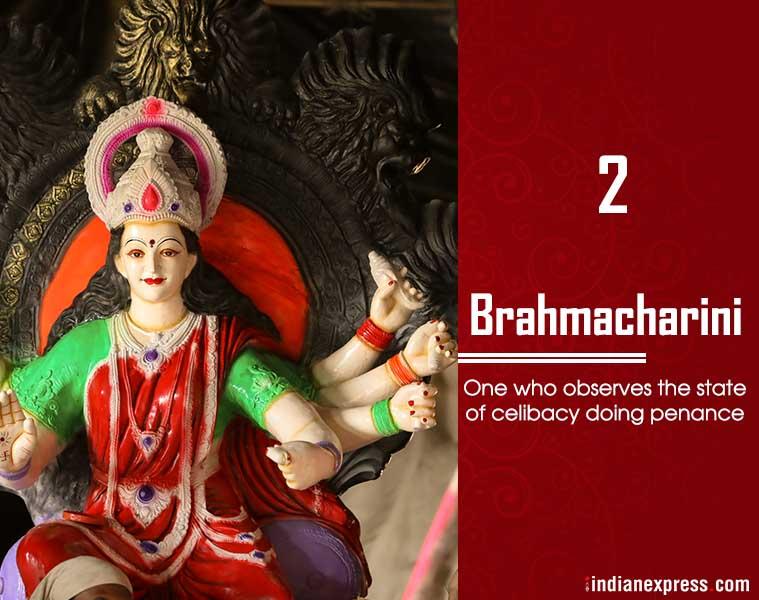 Navratri, Brahmacharini, ie malayalam