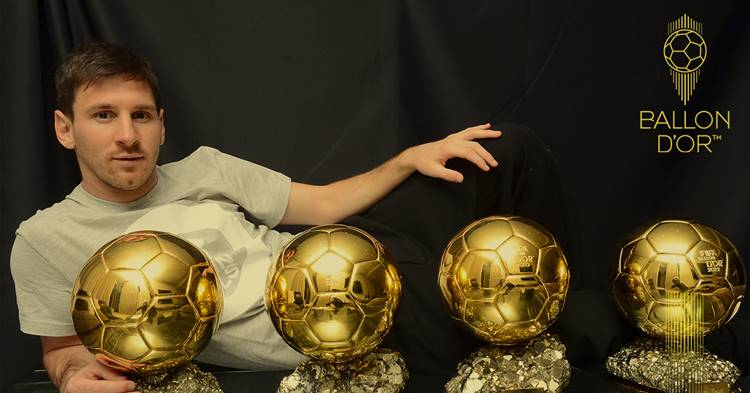 Lionel Messi, Ballon d'Or, ie malayalam