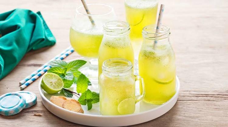 Healthy diet in the time of corona virus, juice
