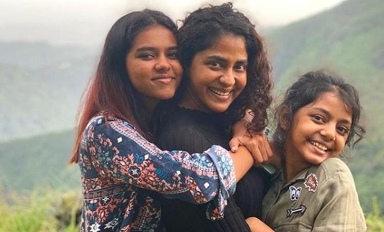 Prarthana Indrajith, Poornima Indrajith, Indrajith, Nakshathra Indrajith