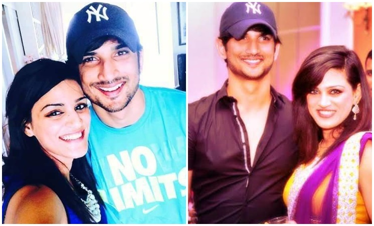 Sushant singh rajput and sister