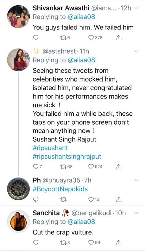 karan johar Sushant Singh Rajput