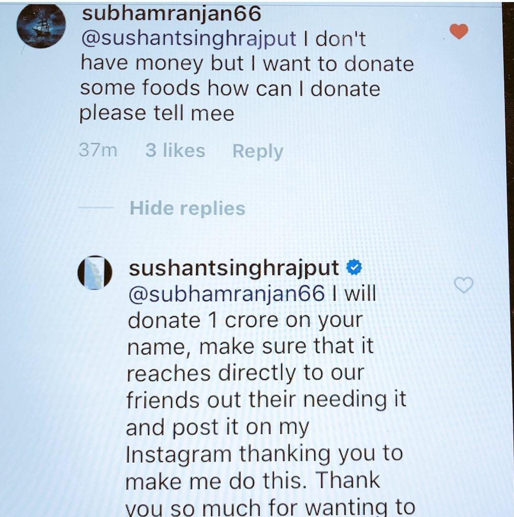 sushant singh rajput donate 1 crore to kerala