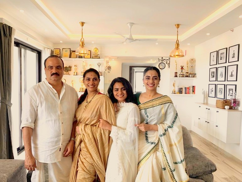 Namitha Pramod, Namitha Pramod family, Namitha pramod new home