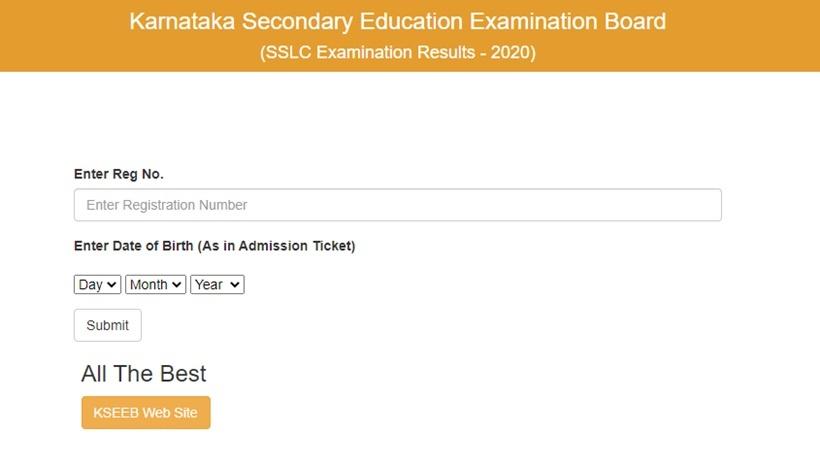 Karnataka SSLC result available online now