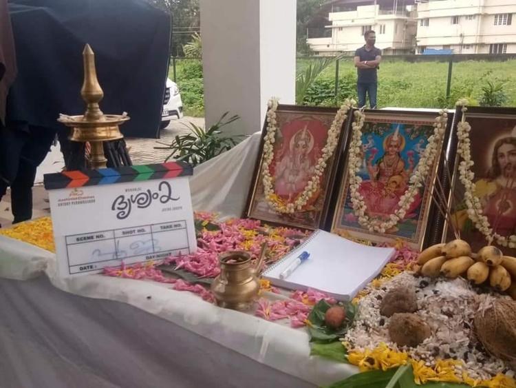 mohanlal, drishyam 2, drishyam 2 shooting begin