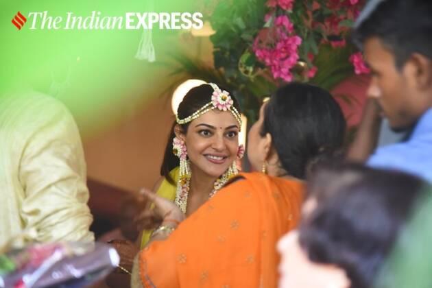 kajal aggarwal, kajal aggarwal mehendi, kajal aggarwal haldi, kajal aggarwal wedding, kajal aggarwal mehendi photos, kajal aggarwal marriage, kajal aggarwal nisha aggarwal, Gautam Kitchlu, kajal aggarwal latest