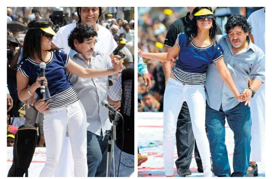 Ranjini Haridas, maradona, maradona dead, Ranjini Haridas maradona photos, maradona dies, maradona, diego maradona, maradona death, രഞ്ജിനി ഹരിദാസ്, മറഡോണ, ഡിയേഗോ മറഡോണ, ഡിഗോ മറഡോണ