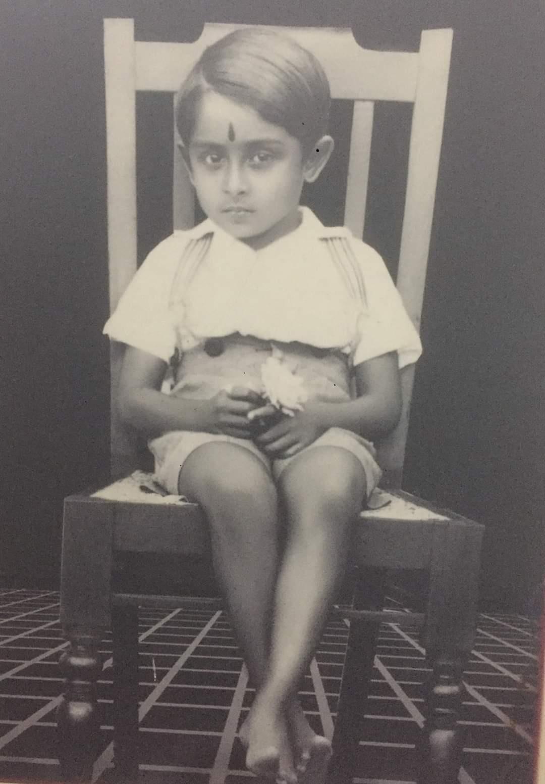 Madhu, Madhu Childhood photo, iemalayalam