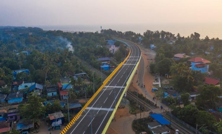 alappuzha bypass, ആലപ്പുഴ ബൈപ്പാസ്, narendra modi, Pinarayi Vijayan, പിണറായി വിജയൻ, ie malayalam, ഐഇ മലയാളം
