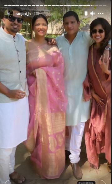 Ranjini Haridas, Ranjini Haridas video, Ranjini Haridas photos, Ranjini Haridas age, Ranjini Haridas flowers, Ranjini Haridas marriage, Ingane oru baryayum bharthaavum, Indian express malayalam, IE malayalam